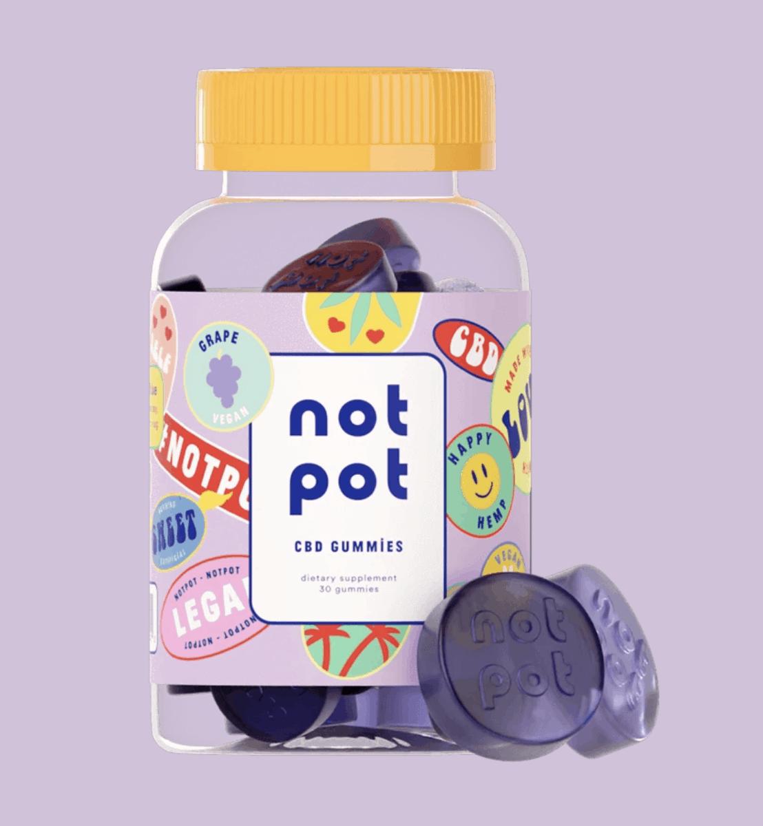 Grape Not Pot CBD Gummies