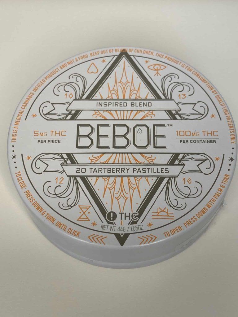 Beboe Inspired THC Pastilles 100mg