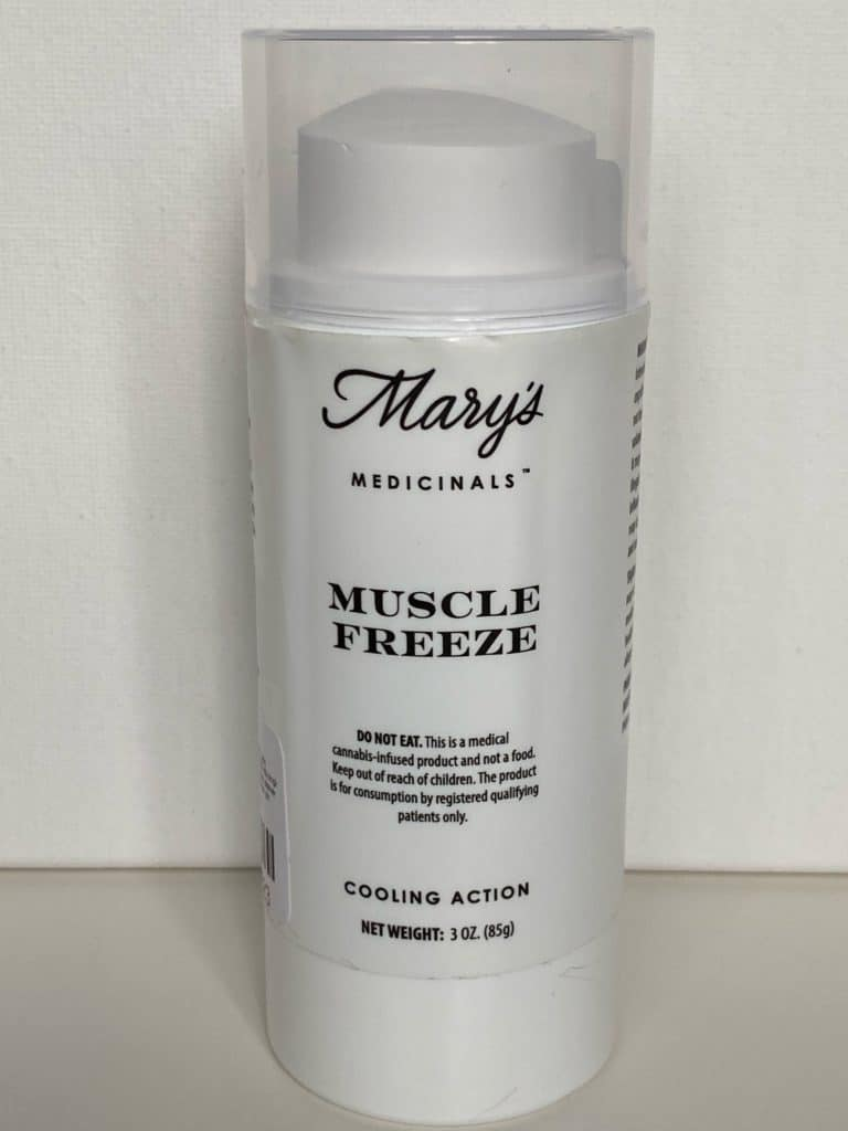 Mary's Medicinals Muscle Freeze THC Topical