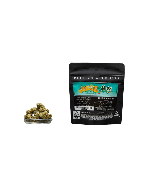 Jungle Boys Premium THC Flower transparent