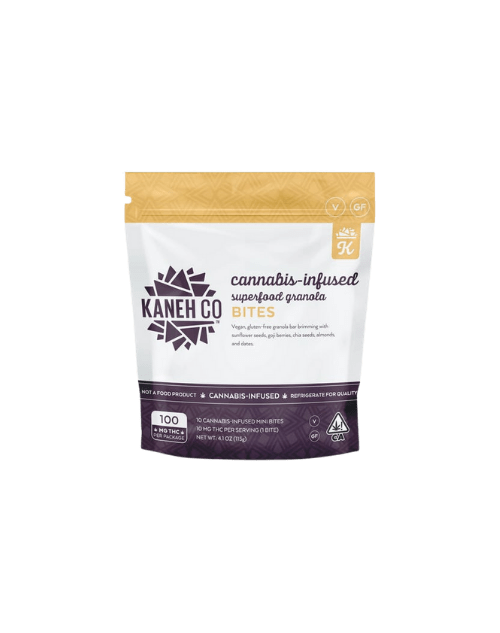 Kaneh Co. Superfood Granola Bites transparent