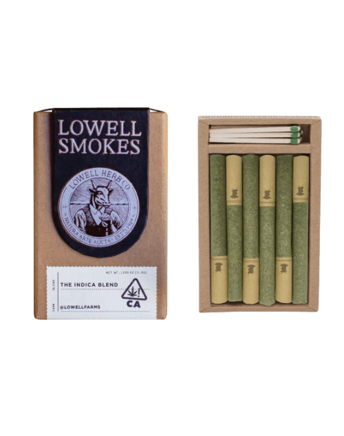 Lowell Smokes Chill Indica THC Pre-Rolls