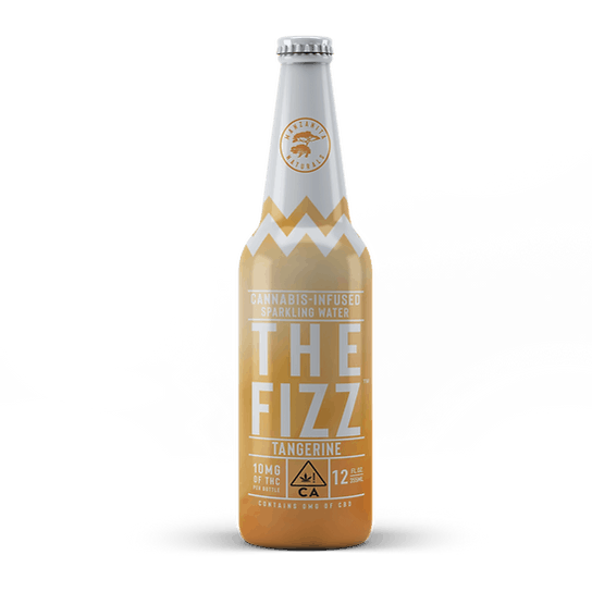 Manzanita Naturals The Fizz 10mg Tangerine Sparkling Water