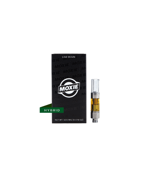 Moxie King's Kush Live Resin Vape Cartridge