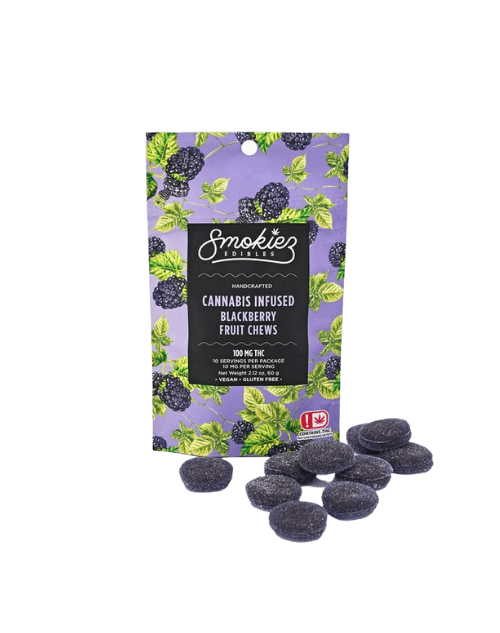 Smokiez Blackberry THC Gummies