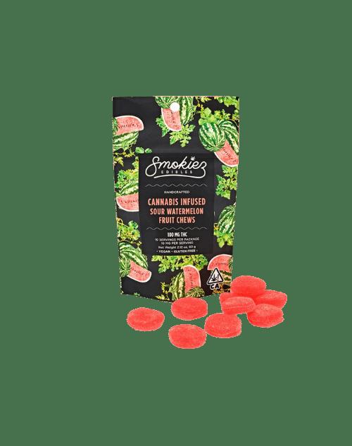 Smokiez Sour Watermelon Gummies 10mg
