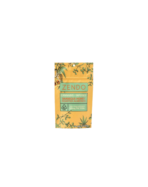 Zendo BBQ Honey Roasted Almonds transparent