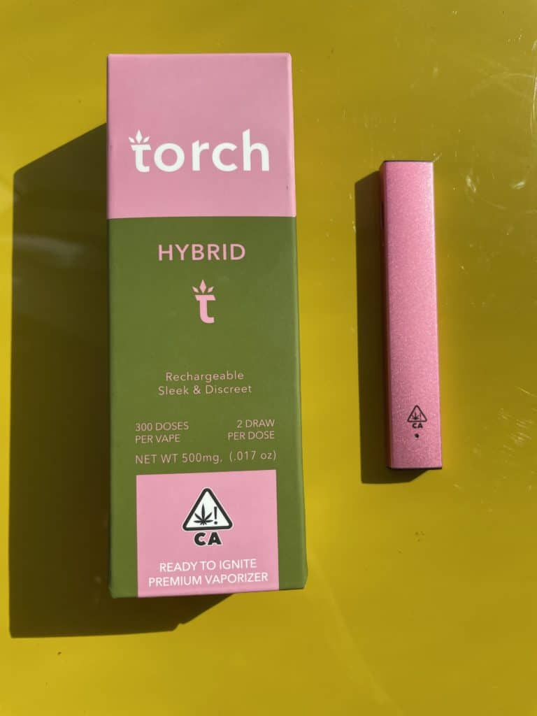 Torch Hybrid Disposable Vape Pen