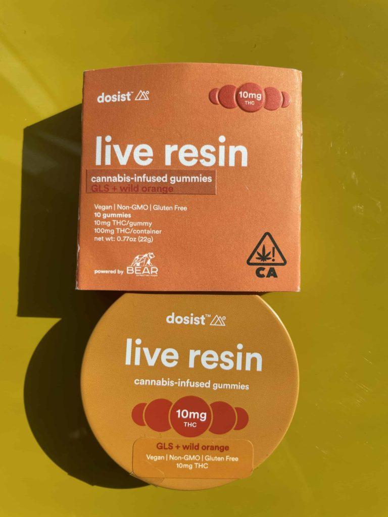 Dosist Wild Orange Live Resin Gummies