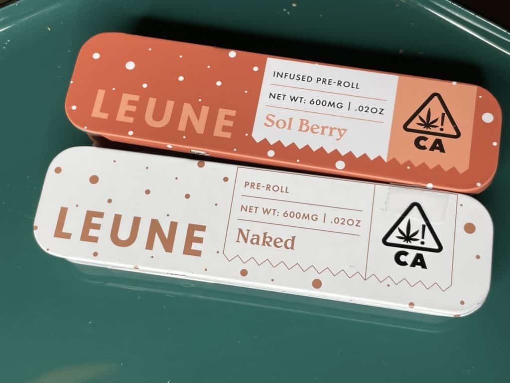 LEUNE Pre-Rolls — Naked & Sol Berry